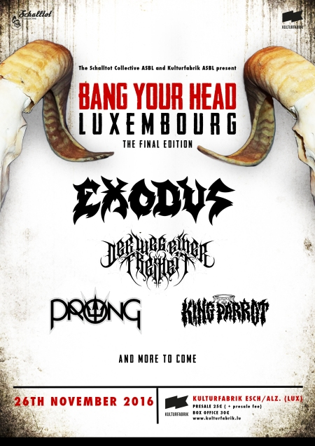 Bang Your Head 2016